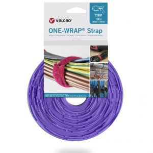 Velcro Hang pack Strap_100units_Purple - RT6